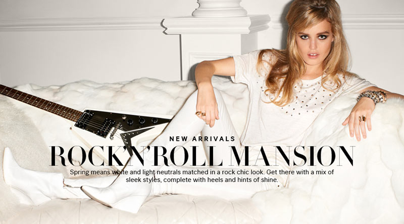 H&m rock 'n' roll mansion spring / summer collection